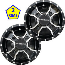 "TWO 10/"" 10x8 3+5 4//110 ITP Wheel Rim SS112 some Suzuki KTM Polaris and others"
