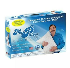 MyPillow Classic Series Standard Size (26 x 18.5 x 4) Bed Pillow