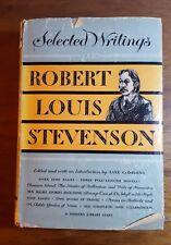 Selected Writings of Robert Louis Stevenson,Modern Library Giant, (1950), 1st ed