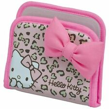 SEIWA Hello Kitty (SANRIO) Fit Pocket for Car Pink Leopard