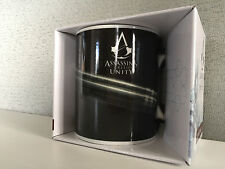 BNIB Genuine Assassins Creed Unity Gun Logo Gift Boxed Smart White Coffee Mug