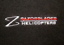 RAZOR BLADES Robinson Helicopters polo shirt women's med embroidery Florida R-44