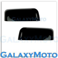 04-08 Ford F150 Truck Factory Gloss Black Top Half Mirror Cover Caps Trim Pair