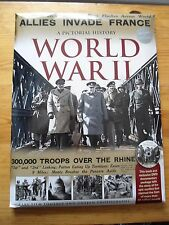 A PICTORIAL HISTORY WORLD WAR II [W.H.SMITHS EXCLUSIVE] BRAND NEW