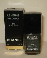 CHANEL LE VERNIS  Nail Polish Colour -  513 Black Pearl   NIB
