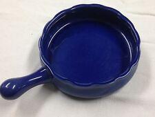 "COCHE STONEWARE Blue Baking Pan Dish Portugal 7.5"""