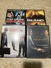 4 Dvd Movies Misson Impossible 3 Collateral The Island Matchstick Men