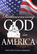 NEW Rediscovering God In America (DVD, 2007) Newt and Callista Gingrich SEALED