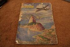 Vintage Douglas Airview Magazine WWII Aircraft Aviation Plane August 1945 #2 USA