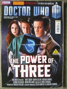 Dr Doctor Who magazine issue 452 November 2012 Jenna Louise Coleman Nick Briggs
