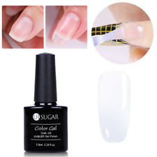 7.5ml Clear Nail Art Poly Building Gellack Tips Quick Extension UV Gel Nagellack