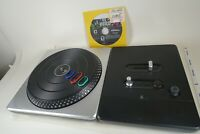 Nintendo Wii DJ Hero Wireless Turntable Controller w/ Game!!