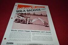 Bobcat Skid Loader 908-A Backhoe Attachment Dealers Brochure DCPA2