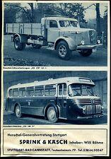 Henschel -- pesanti e omnibus HS 100 N -- Pubblicità di 1953
