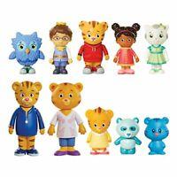 Daniel Tiger's Neighborhood Friends & Family Figure Set (10 Pack) Includes: