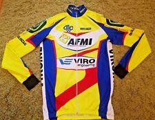 Men`s BIO-RACER Cycling Jacket Jersey Shirt Full Zip Long Sleeve Size see photos