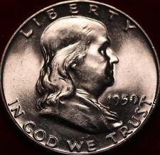 Uncirculated 1950 Philadelphia Mint Silver Franklin Half