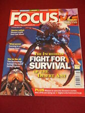 March Focus Science Magazines