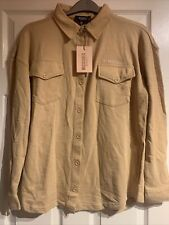 Missguided  camel jersey maternity shirt, Size 6, New