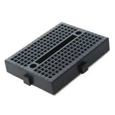 5x Mini Solderless Prototype Breadboard Bread Board for Arduino Shield Black DT