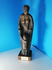 Mutter mit Kind - große Keramik Figur - Bildhauer Hermann Hoffmann - Westerwald
