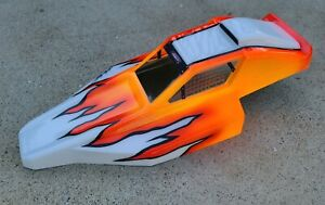 Vintage Painted Andy's Rc10 Renegade/ clear wing By Andy's Rc 🇺🇸