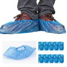100 Pc Household Rain Waterproof Disposable Shoe Covers Overshoes Boot Covers AU