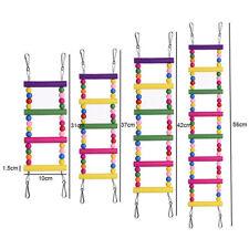 Flexible Wooden Bridge Ladder Mouse Rat Gerbil Hamster Crawling Bird Cage Toy