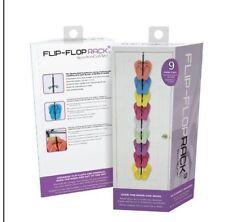 NEW! Perfect Curve FLIP-FLOP Rack - Holds 9 Flip-Flops - Thongs, Sandals, Crocs