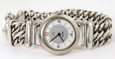 VINTAGE FRENCH ART DECO CANYON WATCH w STERLING SILVER BAND - CANYON WATCH 1930s