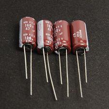 10pcs 47uf 160v Electrolytic Capacitor 160v47uf NCC KXG Long life Japan BEST