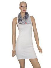 Collection Eighteen Women's Wrap Infinity Loop Scarf Gray Tie Dye Metallic $32
