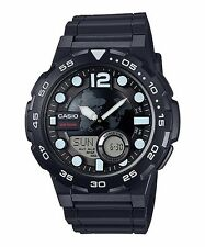AEQ-100W-1A Black Casio Men's Watches Standard 10-Year Battery AE-Q100W