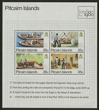 Pitcairn Islands  1980  Scott #192  MNH Souvenir Sheet