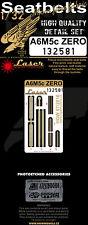 HGW 1/32 Mitsubishi A6M5c 'Zero' Pre-Cut (Laser) Seat Belts # 132581