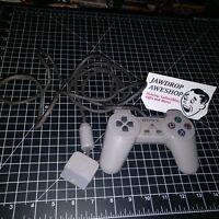 PLAYSTATION 1 PS1 OEM CONTROLLER ORIGINAL (NO STICKS/DUALSHOCK) USED HAS WEAR