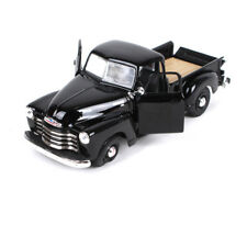 1/25 Black Diecast Allory Maisto 1950 Chevrolet 3100 Pickup Box Display Kids Toy