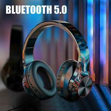 Auriculares Inalámbricos Bluetooth 5.0 sobre Auriculares Estéreo Hd De Oreja Los Auriculares plegables