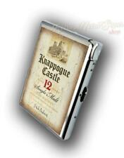 Knappogue Castle Irish Whiskey  CIGARETTE CASE WITH BUILD IN LIGHTER