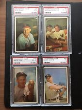 1953 Bowman Baseball Complete Set.  Mostly VG VG/EX Ex- Mickey Mantle 53