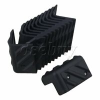 12 Pieces Plastic Corner Protector for Speaker Cabinet Guitar Amplifier