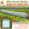 16.5'X2'X1.3'H Mini Tunnel Greenhouse Outdoor Plant Gardening Long Green House