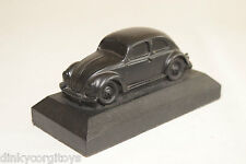 COAL VW VOLKSWAGEN BEETLE KAFER OVAL SPLIT WINDOW ON PLINTH EXCELLENT CONDITION