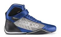 Sparco KB-6 Kartschuhe Omega blau-silber Gr. 48 Sonderpreis