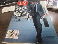 VINTAGE - 1/10/1981 - TV GUIDE - DAVID HARTMAN - GMA  - COVER - VERY GOOD