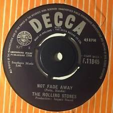"THE ROLLING STONES Not Fade Away Decca UK 1964   Beat 7"""