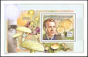 Congo 2002 Mushroom/Fungi/Nature/Nobel Prize Winners/People 1v m/s (s4324)