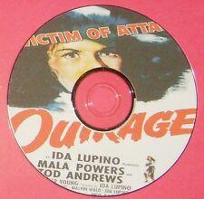 FILM NOIR 269: OUTRAGE (1950) Ida Lupino Mala Powers, Tod Andrews, Robert Clarke