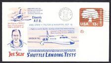 JETSTAR SPACE SHUTTLE MSBLS LANDING SYSTEM TEST FLIGHT 10-13-1976 Space Cover