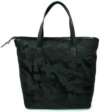 Michael Kors Kent Travel Bag Nylon Black Camouflage Pattern Large Mens